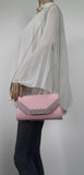 SWANKYSWANS Harper Clutch Bag Pink Cute Cheap Clutch Bag For Weddings School and Work