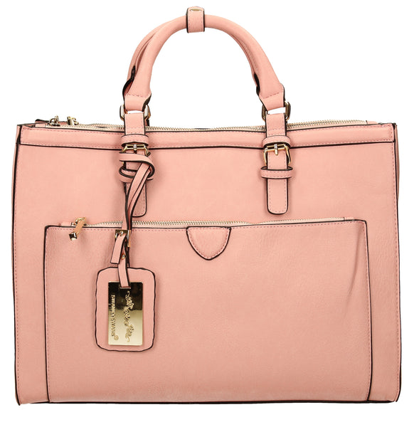 Swanky Swans Marcella Cosmo Handbag PinkPerfect for School, Weddings, Day out!