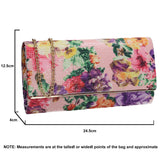 SWANKYSWANS Kyra Clutch Bag Pink Cute Cheap Clutch Bag For Weddings School and Work