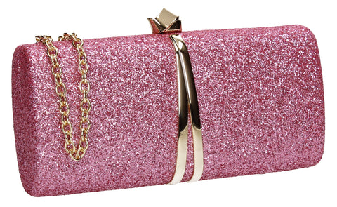 Daisy Clutch Bag Pink for Prom, Weddings And more!
