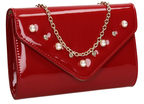 Callie Clutch Bag RedCheap cute Clutch Bag for Wedding Prom Party