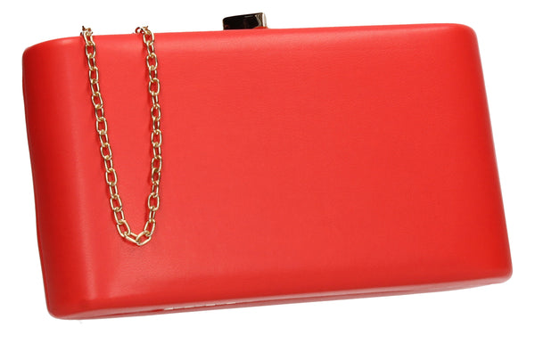 SWANKYSWANS Ruth Clutch Bag Red Cute Cheap Clutch Bag For Weddings School and Work