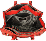 Swanky Swans Marcella Cosmo Handbag RedPerfect for School, Weddings, Day out!
