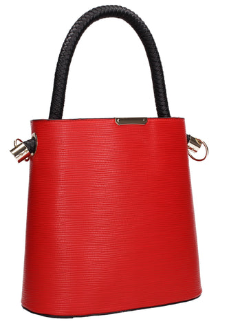 Buy your Eden Handbag Red Today! Buy with confidence from Swankyswans