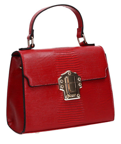 Swanky Swans Charlotte Handbag RedPerfect for School, Weddings, Day out!