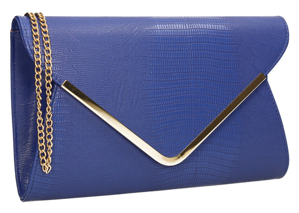 Lauren Clutch Bag Royal Blue