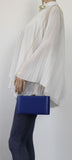 SWANKYSWANS Ruth Clutch Bag Blue Cute Cheap Clutch Bag For Weddings School and Work
