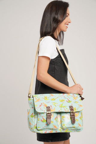 Leila Bird Satchel Bag Mint