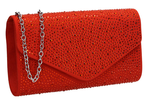 Cadence Clutch Bag ScarletCheap cute Clutch Bag for Wedding Prom Party