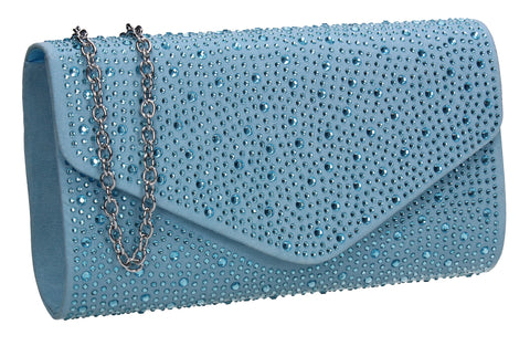 Blue Clutch Bag Cute Prom Summer Outfit - Cadence Clutch Bag Serentiy