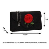 SWANKYSWANS Roxanne Fur Rose Clutch Bag Blush Cute Cheap Clutch Bag For Weddings School and Work