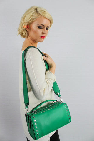 Anna Cross Body Handbag Green