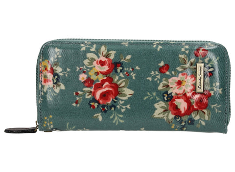 Swanky Swank Hayley Floral Large Purse Vintage GreenCheap Cute School Wallets Purses Bags Animal