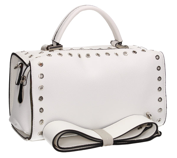 Buy your Anna Handbag White Today! Buy with confidence from Swankyswans