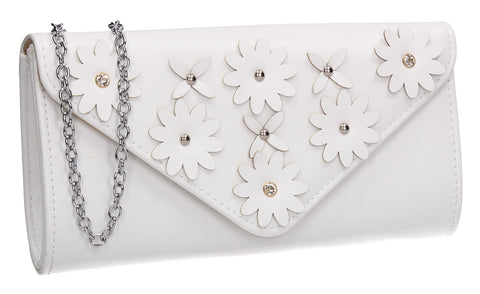 Harley Clutch Bag WhiteCheap cute Clutch Bag for Wedding Prom Party