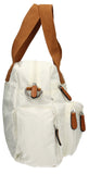 Swanky Swans Kempton Handbag with Lola Cat Motif WhiteCheap Fashion Wedding Work School
