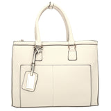 Swanky Swans Naples Cosmo City Handbag WhiteCheap Fashion Wedding Work School