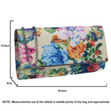 SWANKYSWANS Kyra Clutch Bag White Cute Cheap Clutch Bag For Weddings School and Work