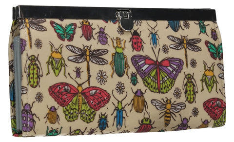 Swanky Swank Borella Butterfly & Bugs Frame PurseCheap Cute School Wallets Purses Bags Animal