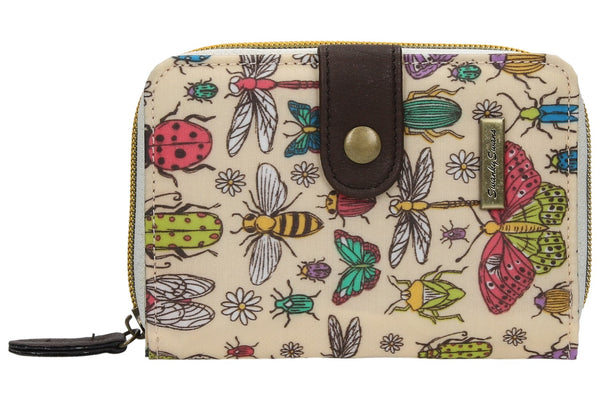 Swanky Swank Borella Butterfly & Bugs Folding PurseCheap Cute School Wallets Purses Bags Animal