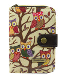 Swanky Swank Classic Owl Tree Purse BeigeCheap Cute School Wallets Purses Bags Animal