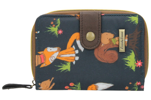 Swanky Swank Freddie Fox & Squirrel Bi-fold PurseCheap Cute School Wallets Purses Bags Animal
