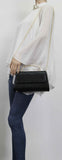 SWANKYSWANS Laura Clutch Bag Black Cute Cheap Clutch Bag For Weddings School and Work