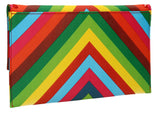 Rainbow Clutch Bag Multicolour-Clutch Bag-SWANKYSWANS