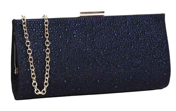 SWANKYSWANS Frances Clutch Bag Navy