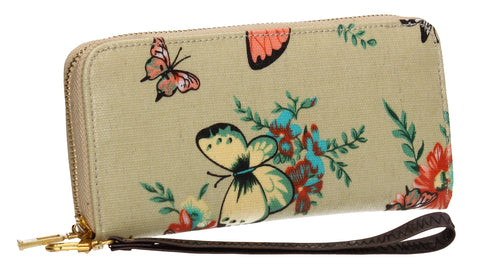 SWANKYSWANS Casper Butterfly & Flower Purse