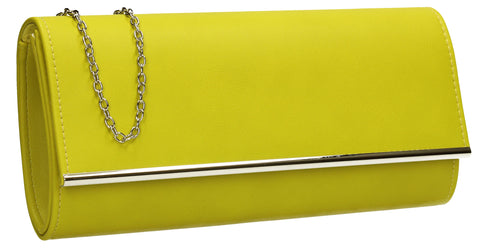 SWANKYSWANS Samantha Clutch Bag Green Cute Cheap Clutch Bag For Weddings School and Work