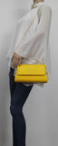 SWANKYSWANS Laura Clutch Bag Yellow Cute Cheap Clutch Bag For Weddings School and Work
