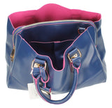 Swanky Swans Kelly Two Tone Handbag Navy & FuschiaCheap Fashion Wedding Work School
