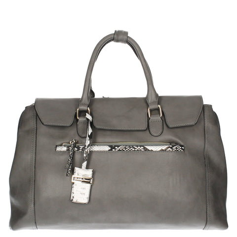 Swanky Swans Hudson Handbag GreyCheap Fashion Wedding Work School