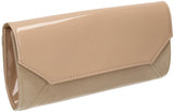 SWANKYSWANS Kiera Clutch Bag Beige Cute Cheap Clutch Bag For Weddings School and Work