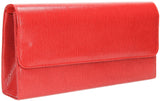 SWANKYSWANS Soho Clutch Bag Red Cute Cheap Clutch Bag For Weddings School and Work