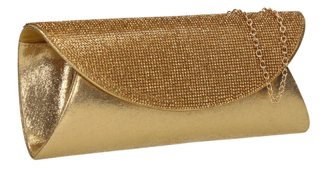 Merylin Clutch Bag Gold