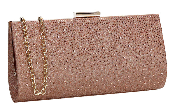 SWANKYSWANS Frances Clutch Bag Champagne