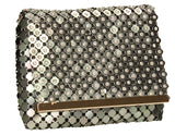SWANKYSWANS Lionel Clutch Bag Grey Cute Cheap Clutch Bag For Weddings School and Work