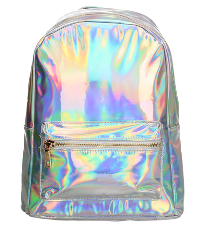 Swanky Swans Lara Backpack Hologram Perfect Backpack for school!