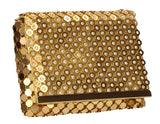 SWANKYSWANS Lionel Clutch Bag Gold Cute Cheap Clutch Bag For Weddings School and Work