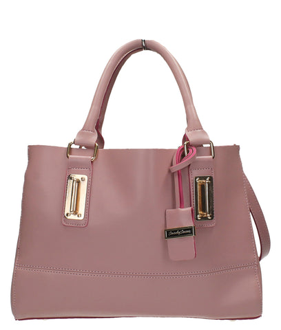 Kelly Two Tone - Pink & Fuschia-Handbags-SWANKYSWANS