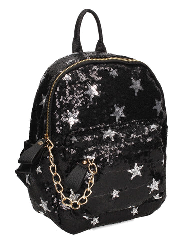 Swanky Swans Carli Backpack Black Perfect Backpack for school!