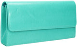 SWANKYSWANS Soho Clutch Bag Turquoise Cute Cheap Clutch Bag For Weddings School and Work