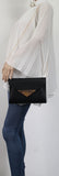 SWANKYSWANS Elaine Envelope Clutch Bag Black Cute Cheap Clutch Bag For Weddings School and Work