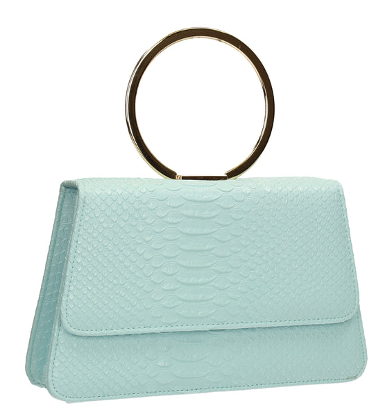 SWANKYSWANS Piper Clutch Bag Serenity Cute Cheap Clutch Bag For Weddings School and Work