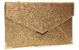 SWANKYSWANS Korie Clutch Bag Champagne Cute Cheap Clutch Bag For Weddings School and Work