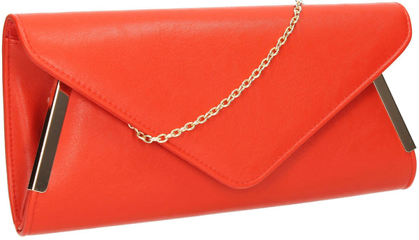 SWANKYSWANS Laurie Clutch Bag Red Cute Cheap Clutch Bag For Weddings School and Work