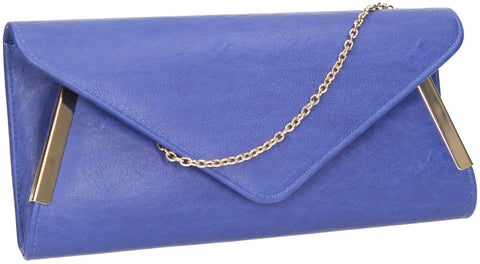 SWANKYSWANS Laurie Clutch Bag Royal Blue Cute Cheap Clutch Bag For Weddings School and Work