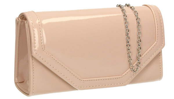 SWANKYSWANS Melania Clutch Bag Pink Cute Cheap Clutch Bag For Weddings School and Work